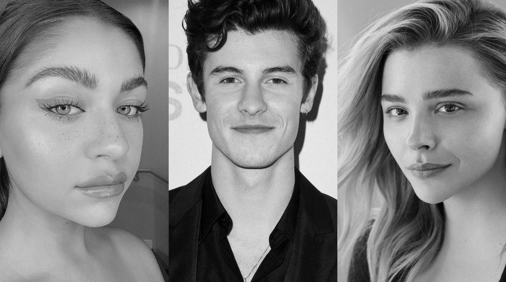 andrea russett, Shawn Mendes And Chloe Grace Moretz
