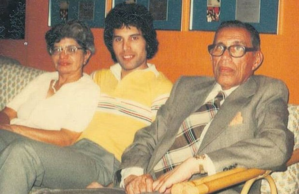 Freddie Mercury's parents