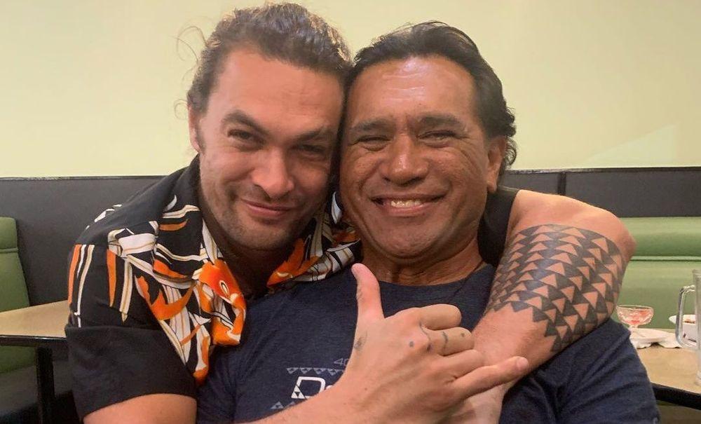 Jason Momoa And His Father