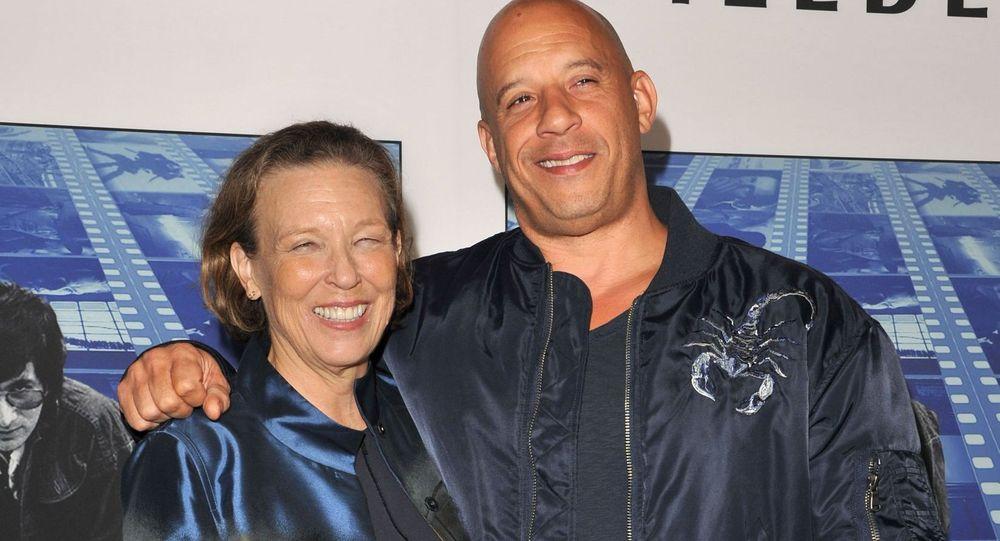 Delora Vincent and Vin Diesel
